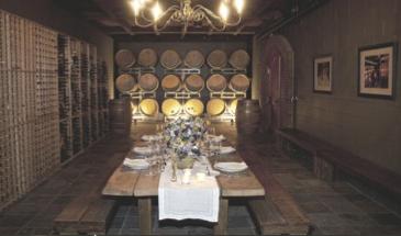 Chamard Barrel Room