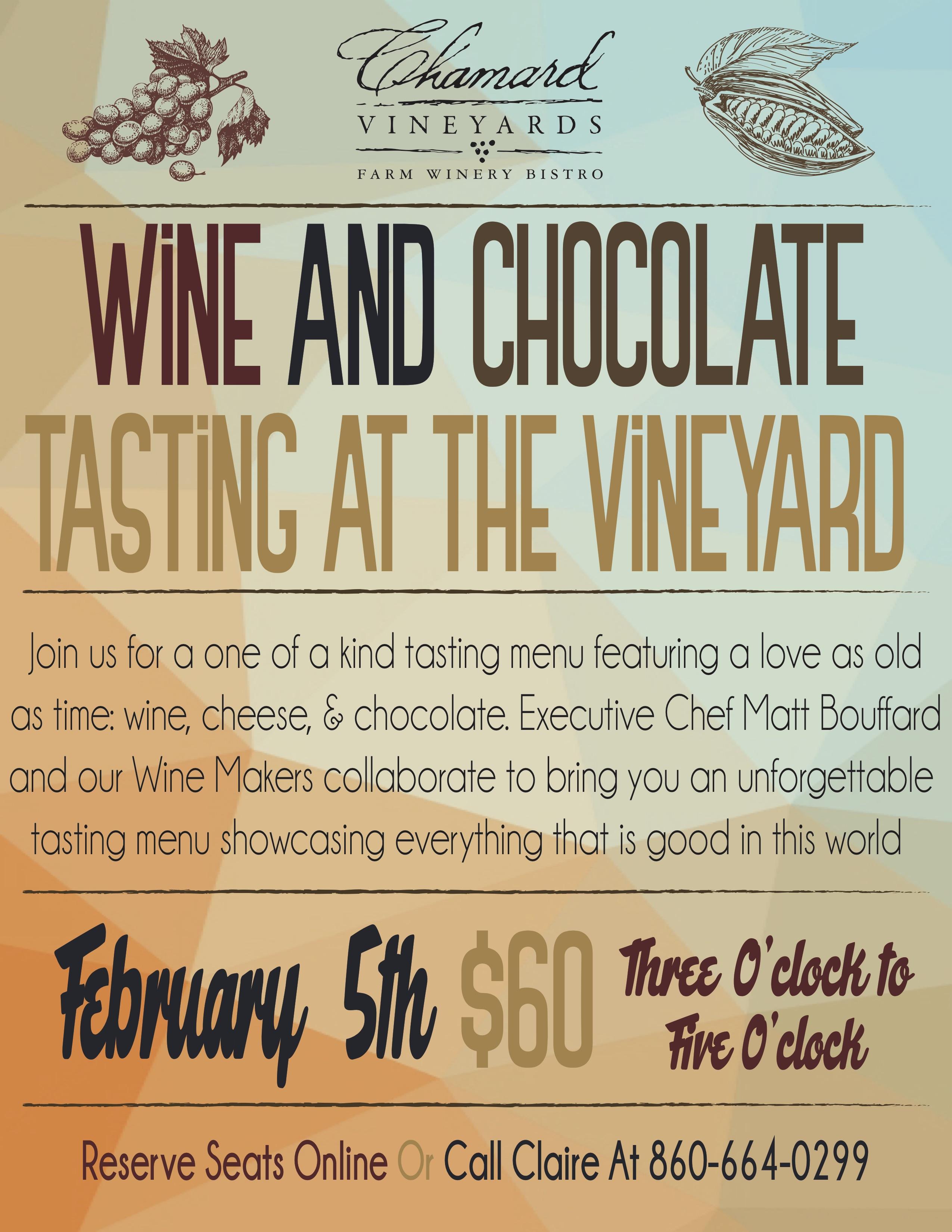Chocolate Pairing Poster V3